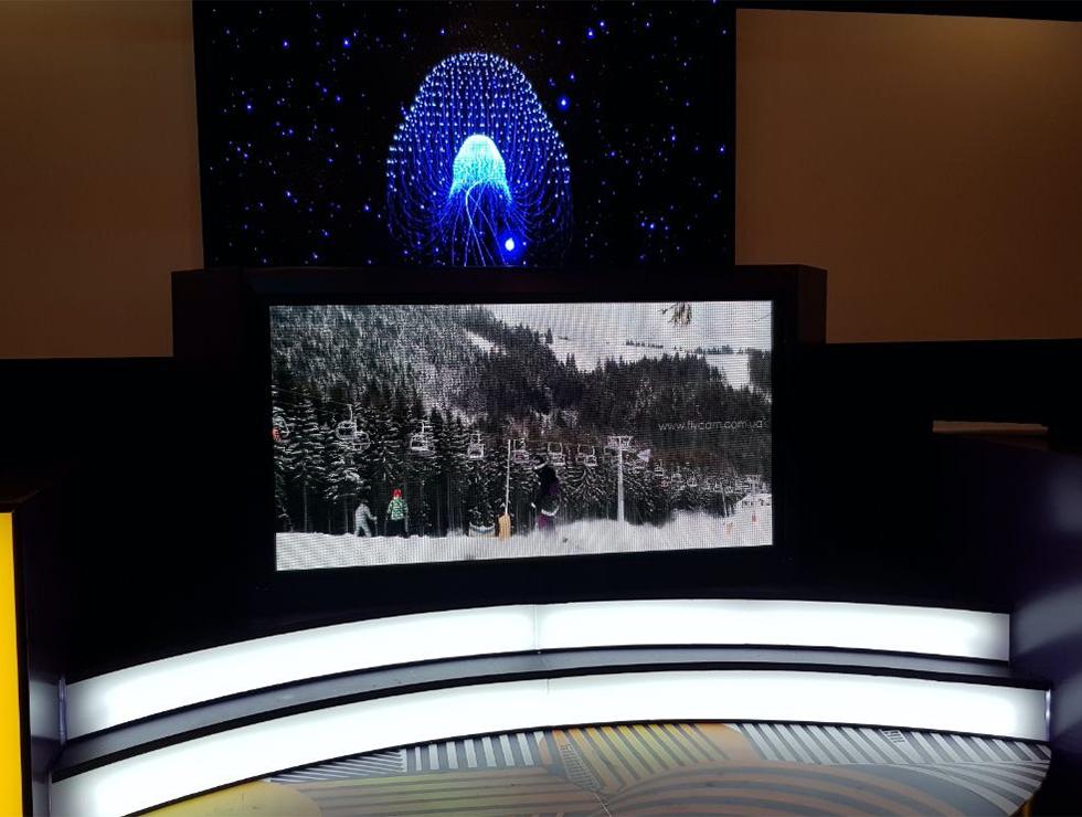 Led экран для помещения